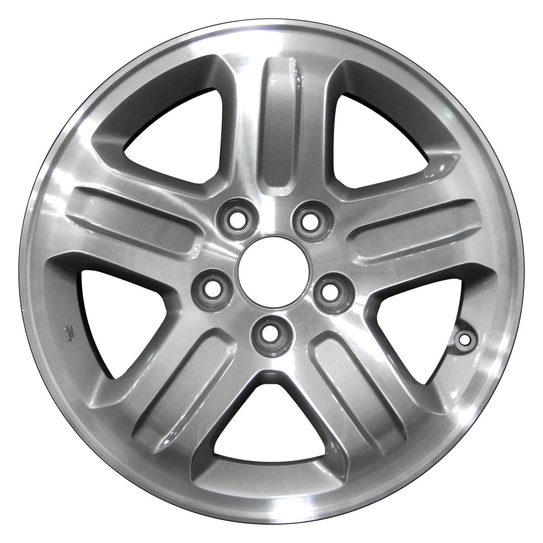 perfection wheel honda pilot 2005 16 refinished 5 spokes factory alloy wheel. Black Bedroom Furniture Sets. Home Design Ideas
