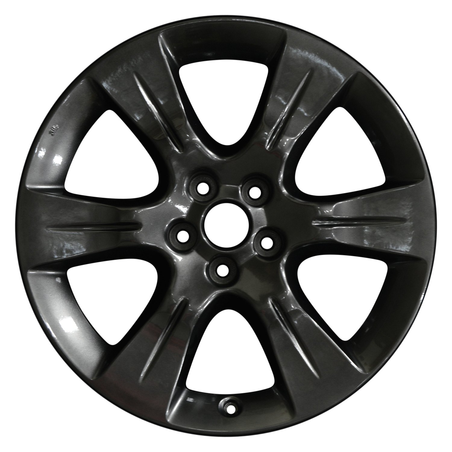 perfection wheel toyota sienna 2015 19 refinished 6 spokes factory alloy wheel. Black Bedroom Furniture Sets. Home Design Ideas