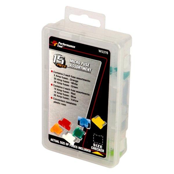 Performance Tool® W5376 - Micro Fuse Assortment