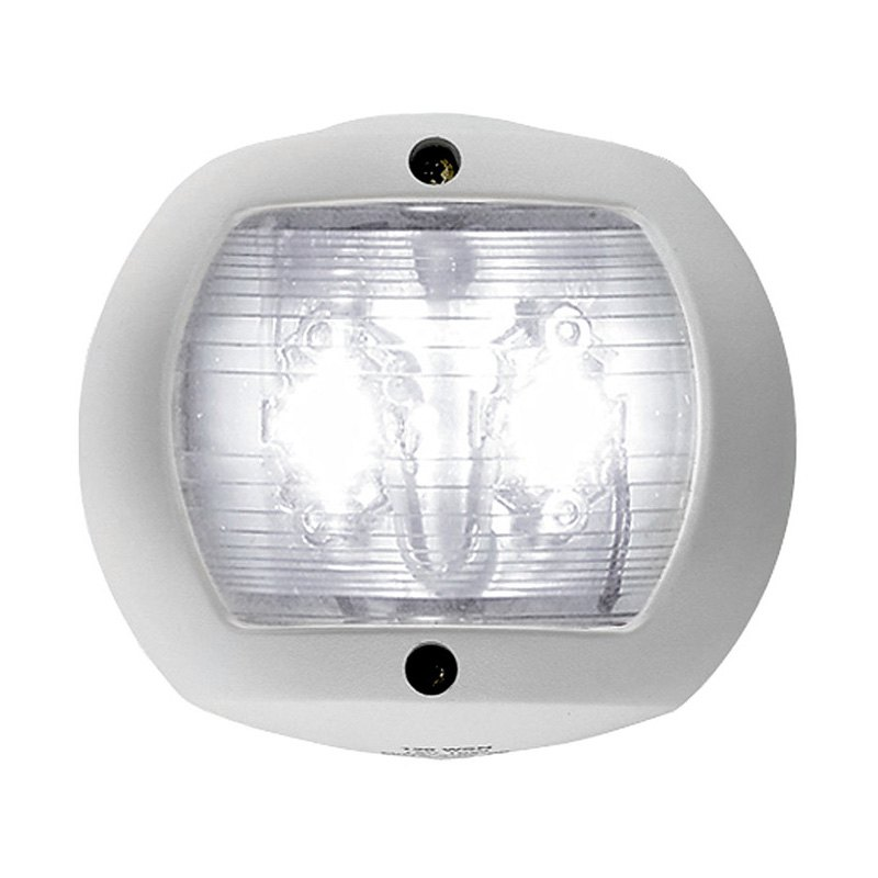 perko 0170wsndp3 led stern light 12v white with white plastic. Black Bedroom Furniture Sets. Home Design Ideas