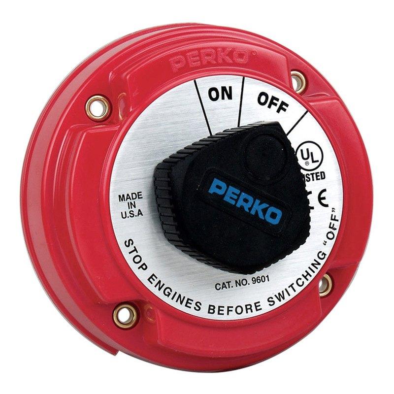 Perko 174 9601dp 250a Medium Duty Battery Disconnect Switch