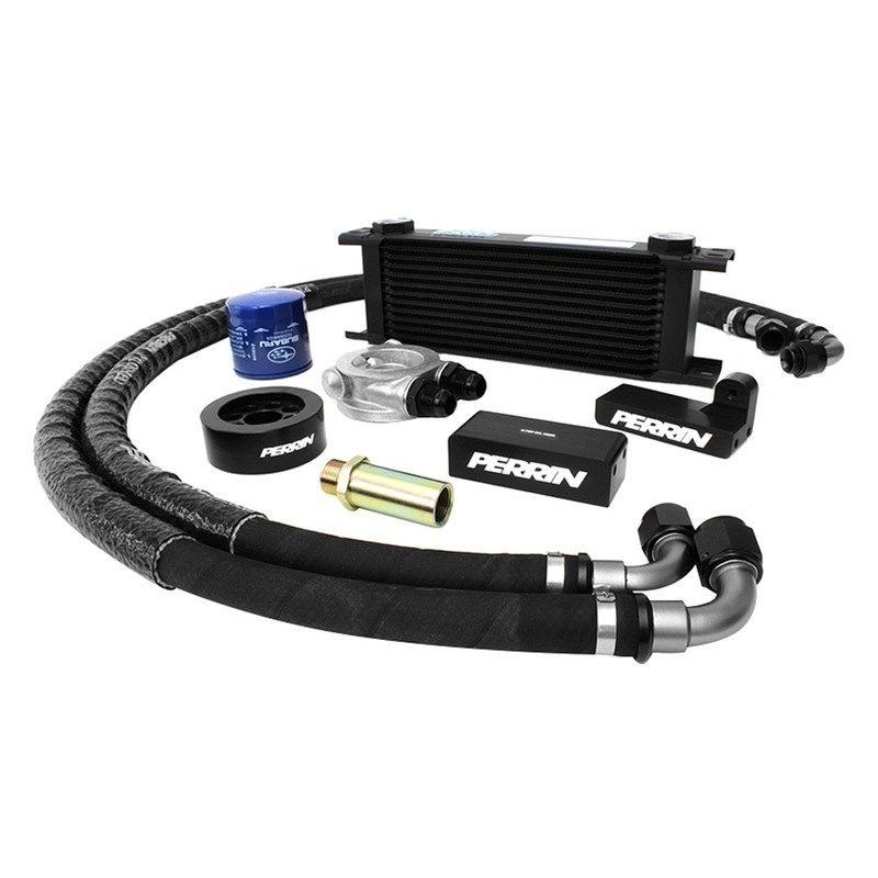 Oil Cooler Kit : Perrin performance psp oil cooler kit