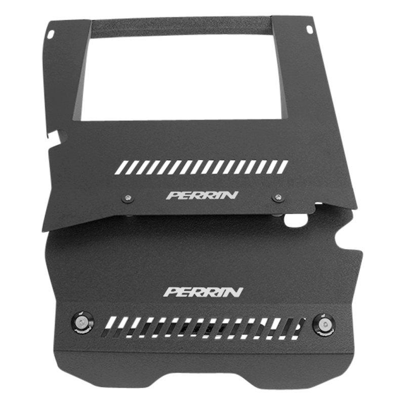 For 2015-2017 Subaru WRX Black Perrin PSP-ENG-165BK Engine Cover Plate Kit