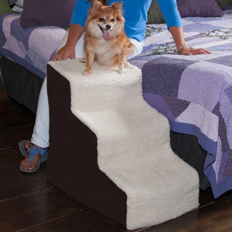 Pet Gear®   Easy Step III Deluxe Oatmeal/Chocolate Soft Pet StairsPet Gear®    Easy Step III Deluxe Oatmeal/Chocolate Soft Pet ...