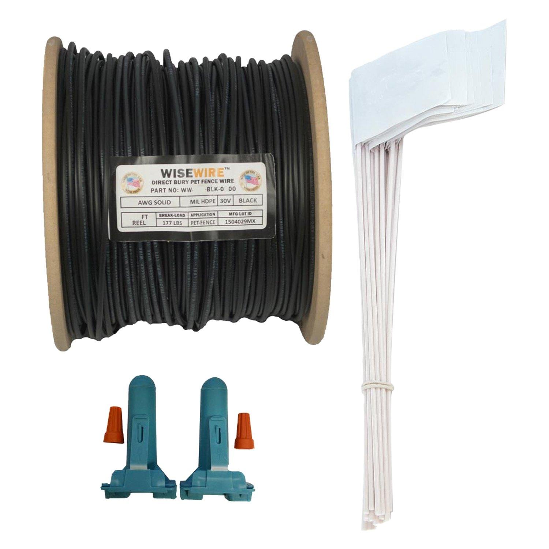 Pet Stores USA® WW-14K - 14 Gauge 500\' WiseWire ™ Boundary Wire Kit