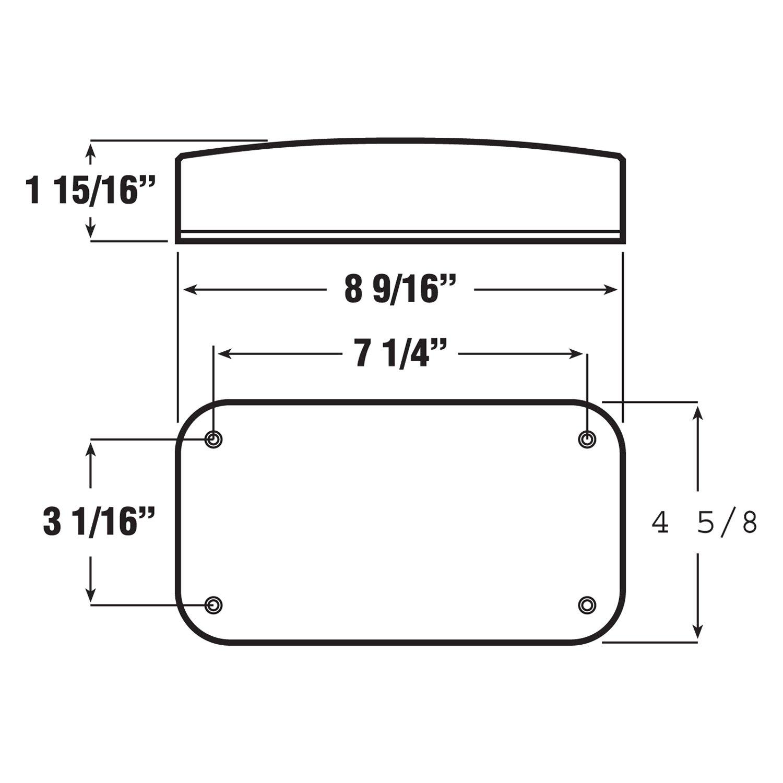 Rare Parts RP18949 Sway Bar Frame Bushing