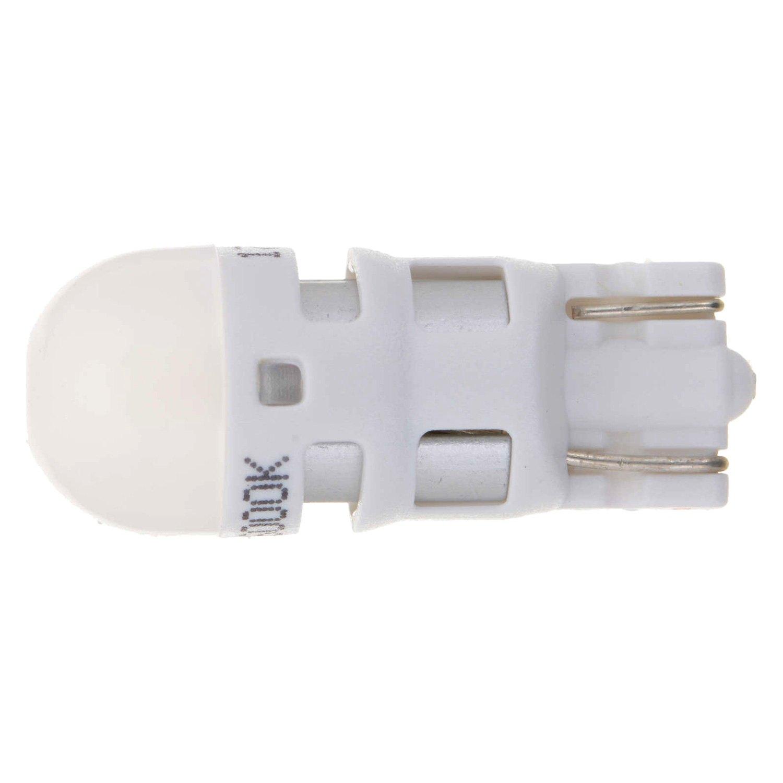 White Philips 168WLED License Light Bulb-Ultinon Led