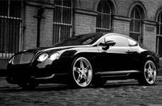 Phino PW-18A Stroke 5 Chrome on Bentley Continental GT