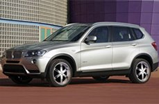 Phino PW-58 Sixer Chrome on BMW X3