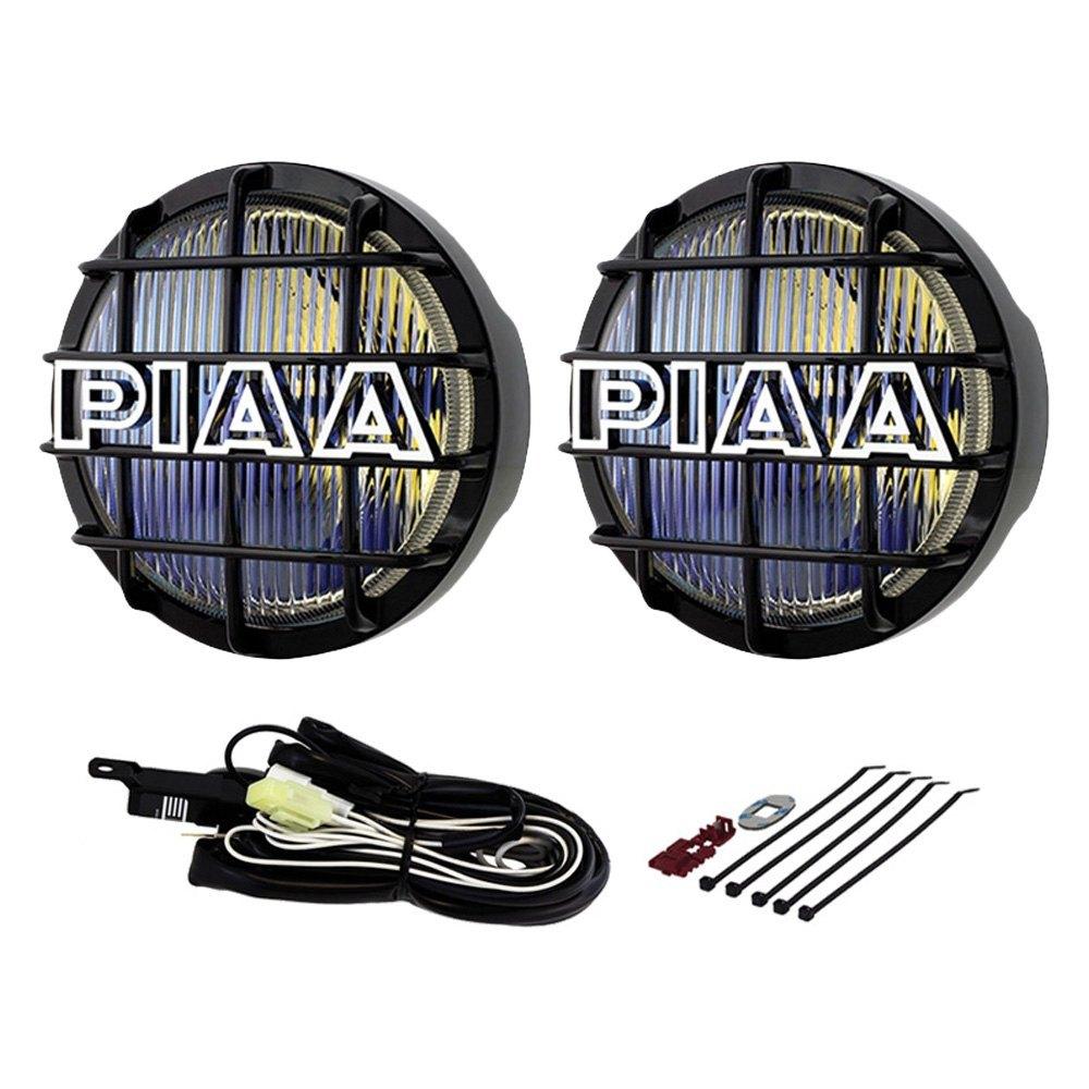 """... LightPIAA® - 520 Series 6"""" 2x55W Round Fog Beam Yellow Lights, ..."""