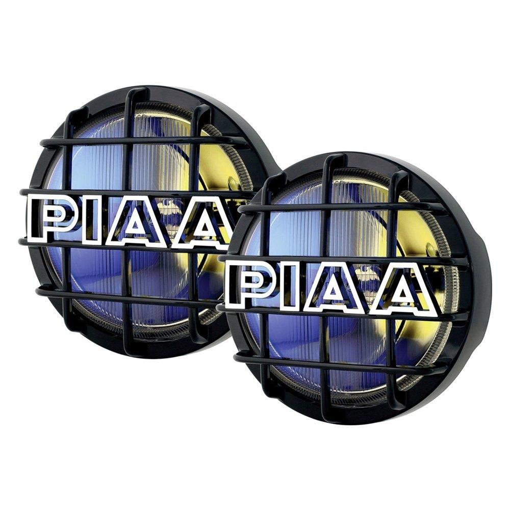 """PIAA® - 520 Series 6"""" 2x85W Round Driving Beam Yellow Lights"""