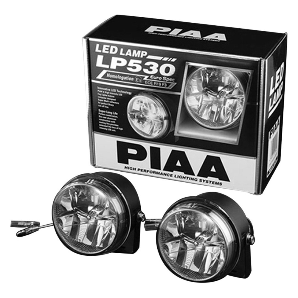 Piaa Jeep Wrangler 2013 Fog Light Location Mounted Lp 530 3 5 2x6w Round Driving Beam Led Lights