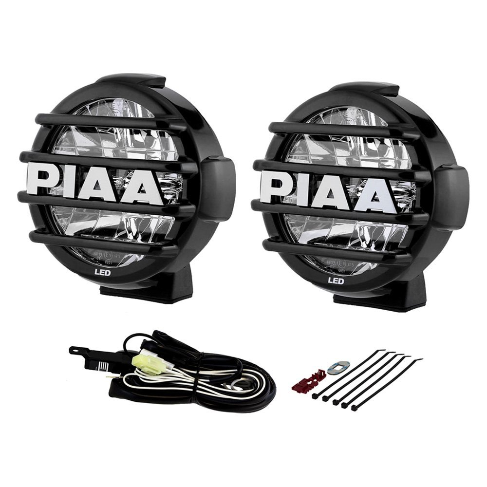 Piaa 05772 Lp 570 Sae 7 2x18w Round Driving Beam Led Lights Motorcycle Wiring Diagram Lightspiaa