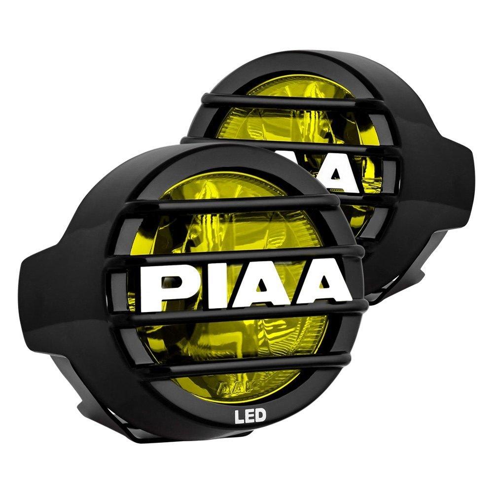 "PIAA® - LP-530 3.5"" 2x9.4W Round Fog Beam Yellow LED"