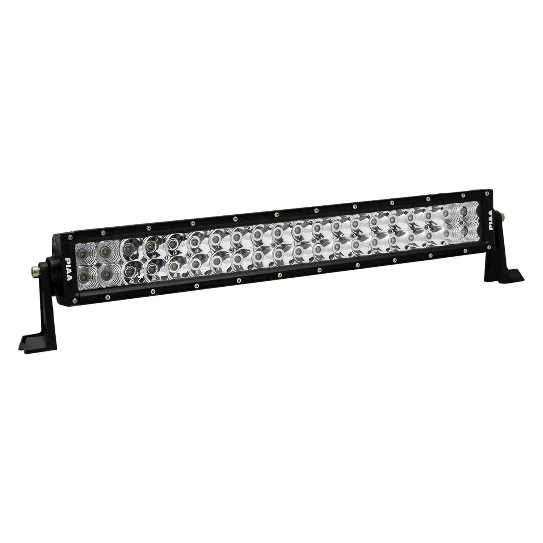 Piaa 26 06120 Quad Series 20 120w Dual Row Combo Beam Led Light Wiring Harness Bar With