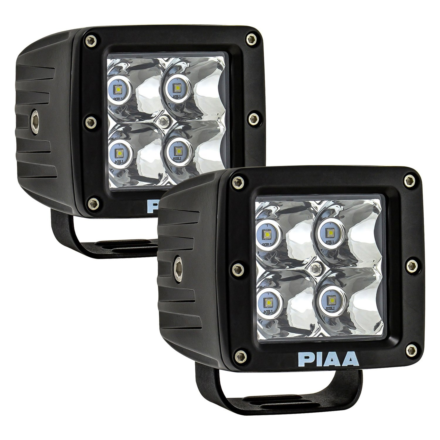 Piaa 26 06603 Quad Series 3 2x12w Cube Spot Beam Led Lights Wiring Diagram For Fog