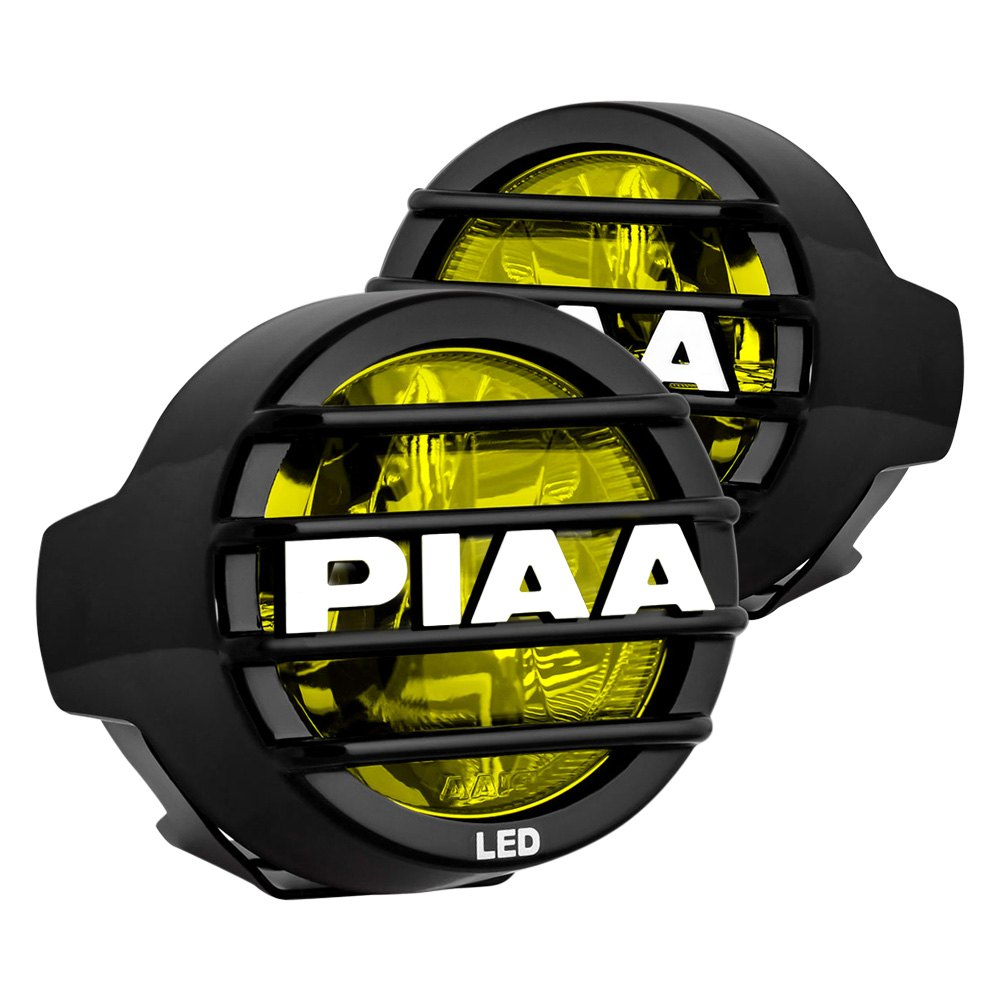 piaa 174 12 05302 lp 530 rotating bracket mount 3 5 quot 9 4w driving beam yellow led light