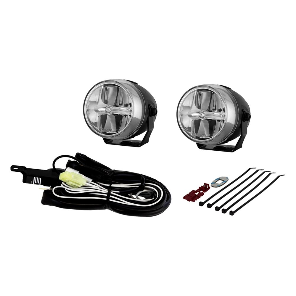 piaa® 73270 lp270 2 75 round motocycle led fog lights piaa® lp270 2 75 round motocycle led fog lights