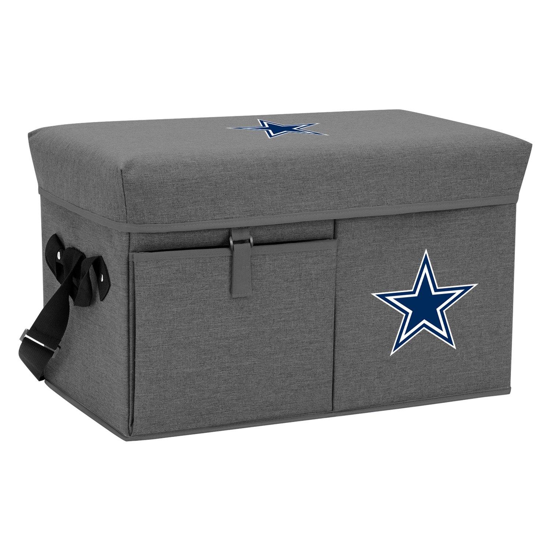 Picnic Time Ottoman NFL Dallas Cowboys 24-Can Gray Soft Cool
