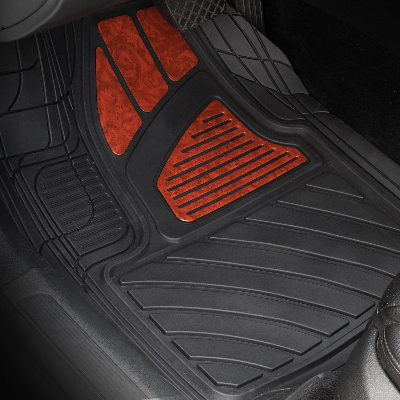 Pilot fm 27e wood design floor mat for Floor mat design