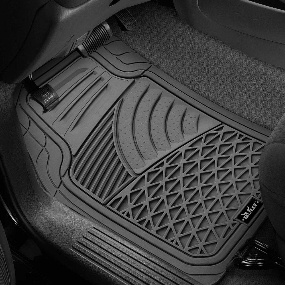 piece rubber duty full mats gy floor clear floors fit mat universal heavy ridged set