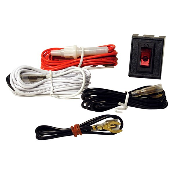 pilot 174 pl harn12 wiring harness kit with rocker switch