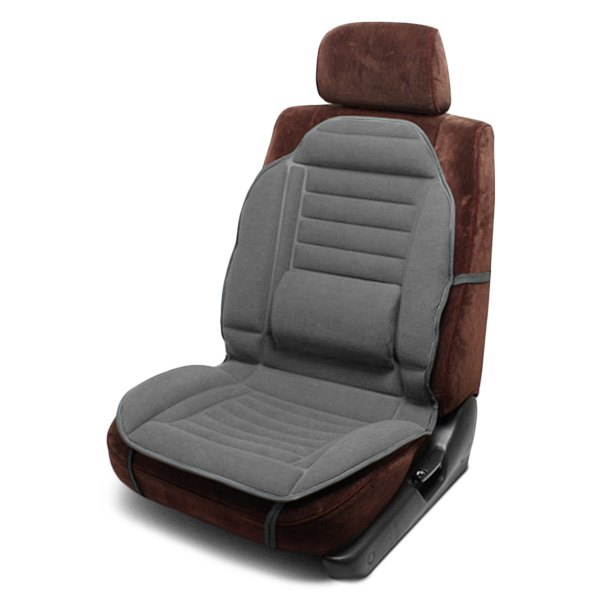 pilot gray seat cushion with lumbar support ebay. Black Bedroom Furniture Sets. Home Design Ideas