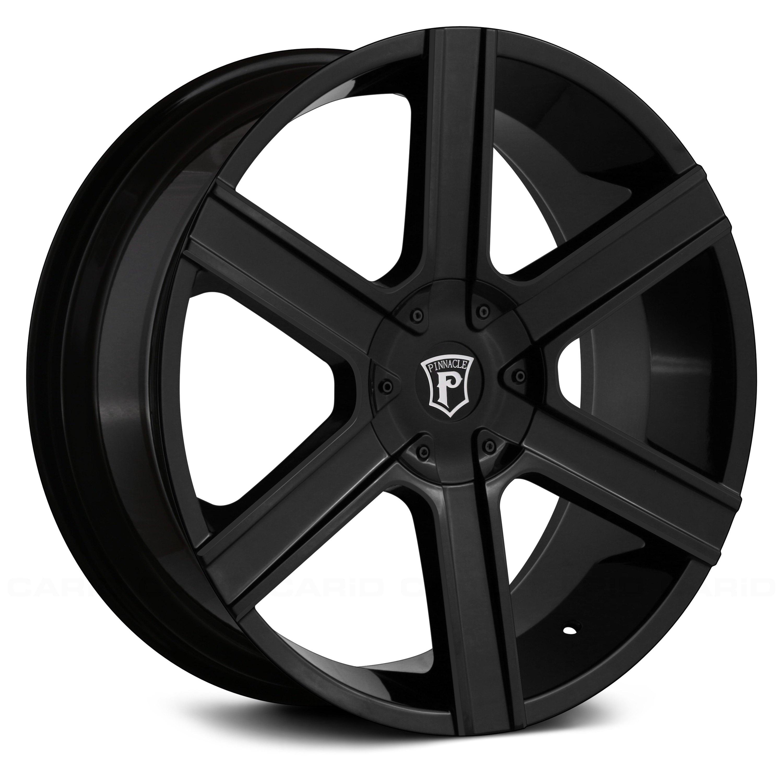 PINNACLE GALLANT Wheels Gloss Black Rims
