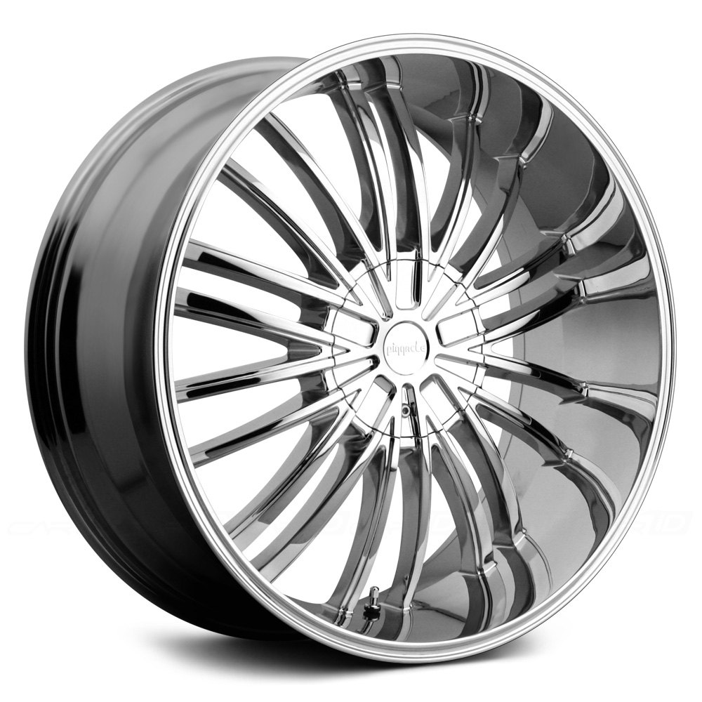 pinnacle via wheels chrome rims