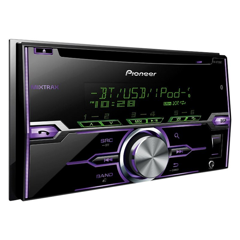pioneer fh x520ui double din cd am fm mp3 wma receiver. Black Bedroom Furniture Sets. Home Design Ideas