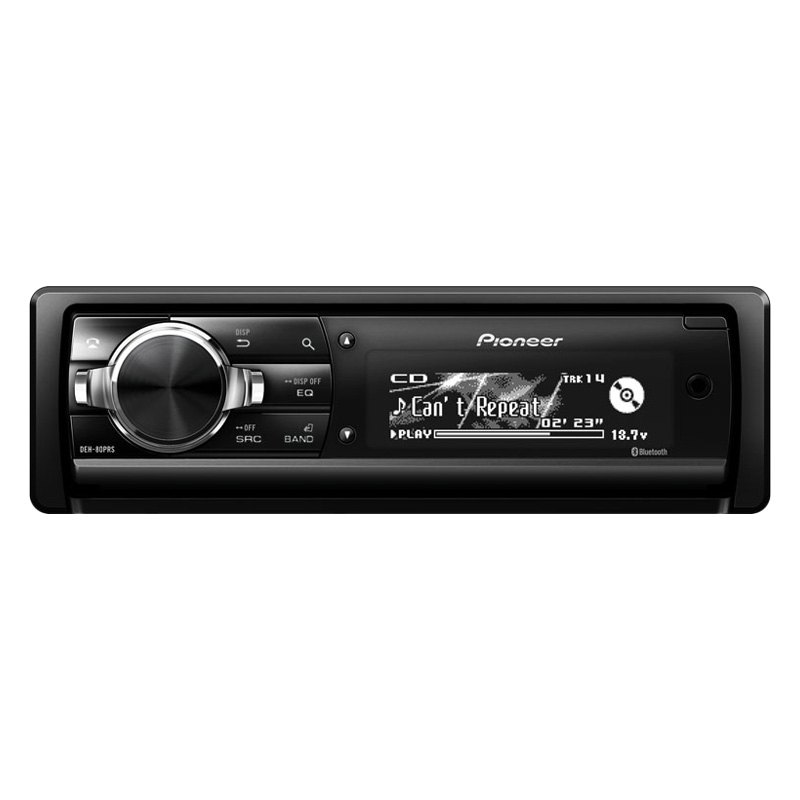 pioneer in dash stereo. pioneer® - single din cd/am/fm/mp3/wma receiver with built-in bluetooth and 3-way active crossover network, auto eq time pioneer in dash stereo h