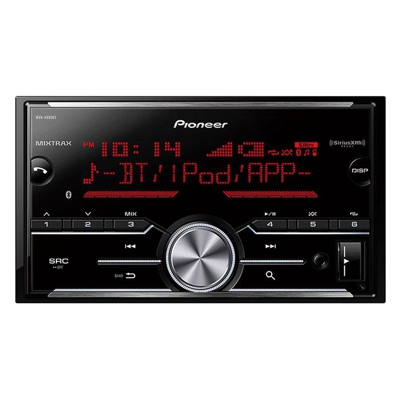 Pioneer 174 double din am fm mp3 wma acc flac in dash digital media