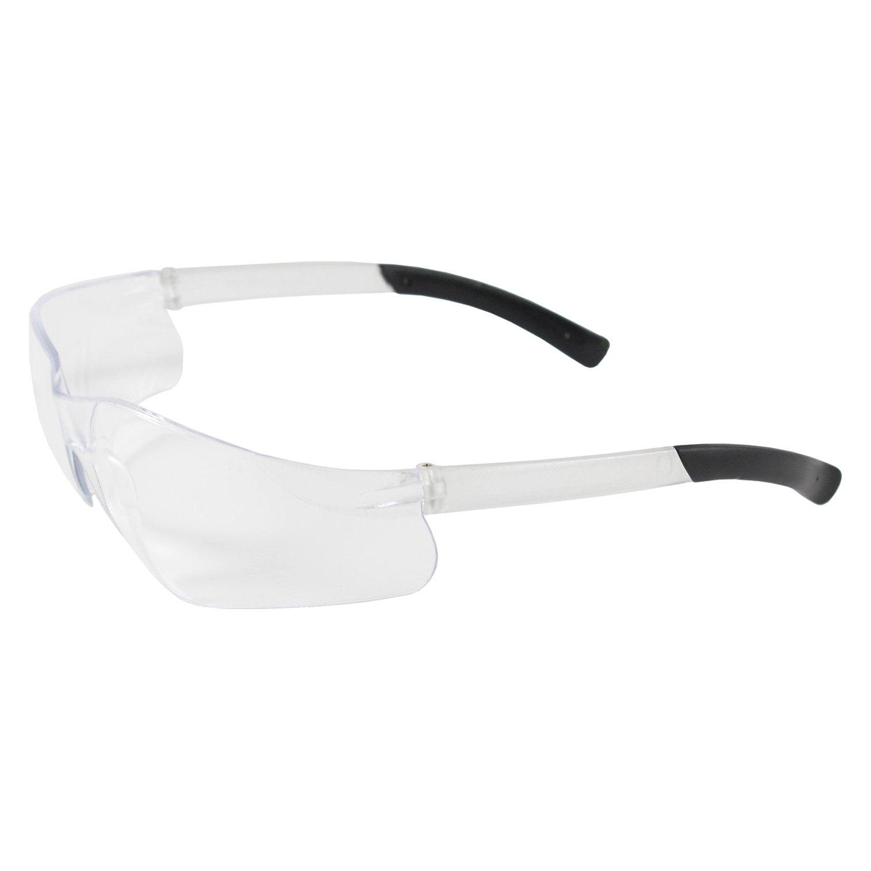 Rimless Glasses With Clear Bridge : PIP - Zenon Z13 Rimless with Clear Temple Safety Glasses