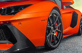 PIRELLI® - Tires on Lamborghini Aventador