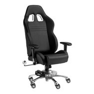 PitStop Furniture® - Grand Prix Series Black-on-Black Chair