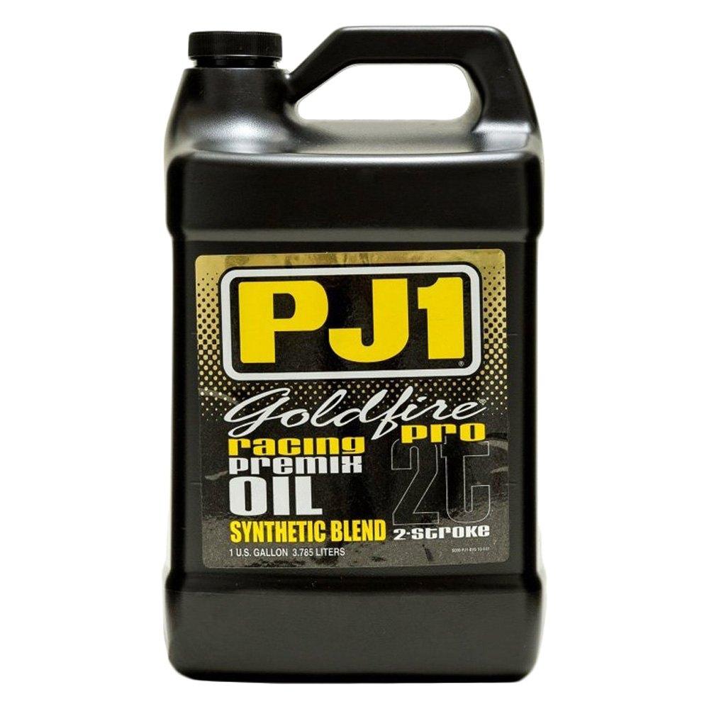 Pj1 8 16 1g 1 gallon goldfire pro premix motor oil for Gallon of motor oil price