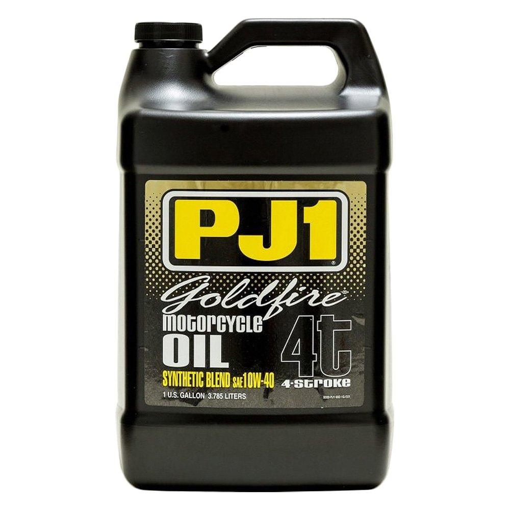 Pj1 9 32 1g 1 Gallon 10 Wt 40 Goldfire Synthetic Motor Oil