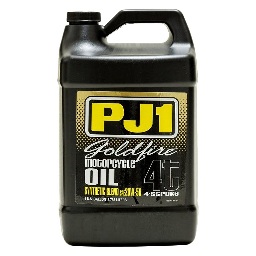 Pj1 9 50 1g 1 Gallon 20 Wt 50 Goldfire Synthetic Motor Oil
