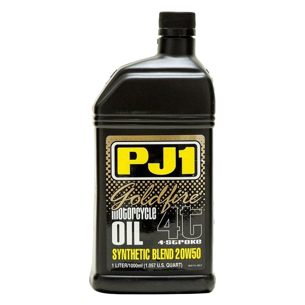 Pj1 9 50 1 Liter 20 Wt 50 Goldfire Synthetic Motor Oil