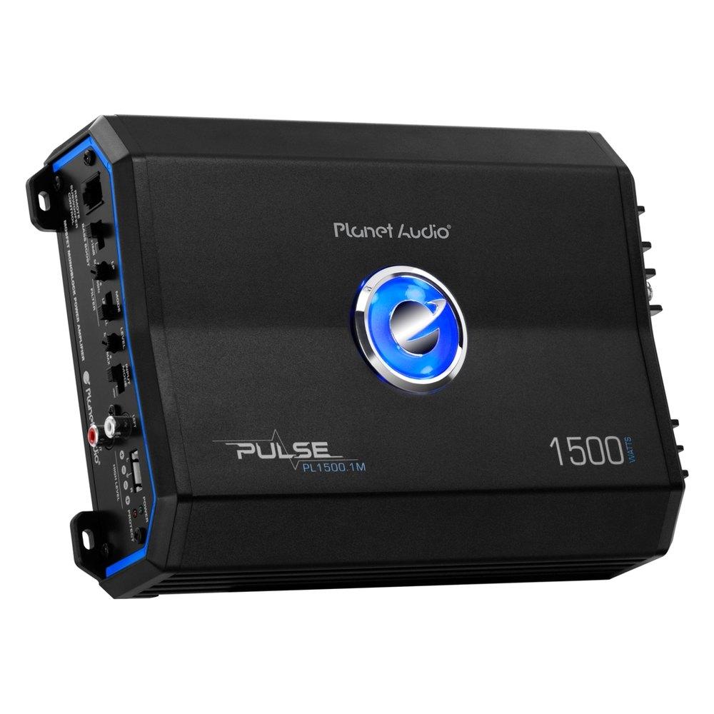 planet audio pl15001m pulse series class ab mono 1500w amplifier