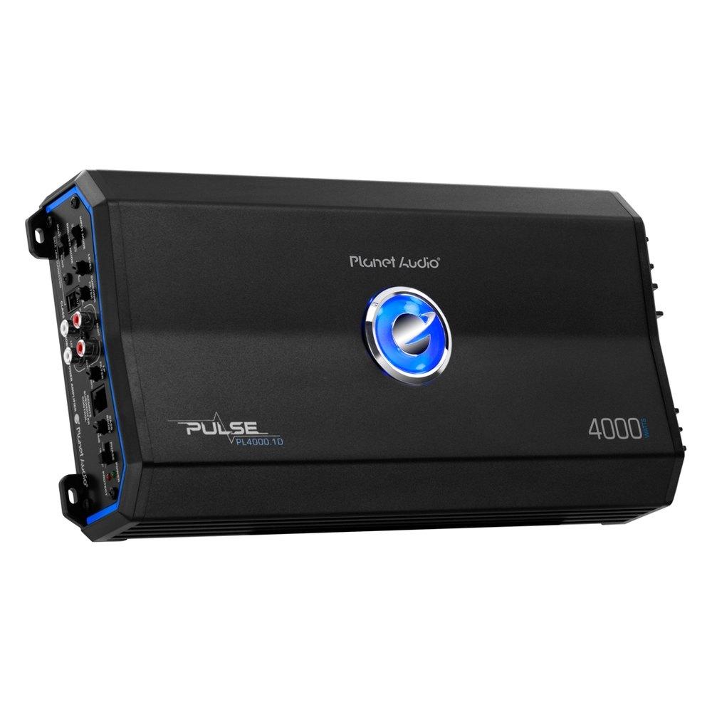 planet audio pl40001d pulse series class d mono 4000w amplifier. Black Bedroom Furniture Sets. Home Design Ideas