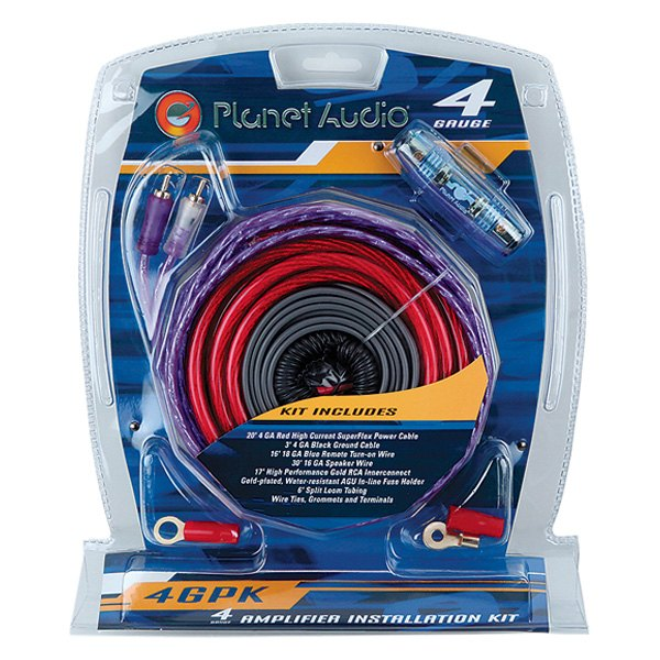 planet audio® 4gpk - 4 gauge amplifier wiring kit - carid.com planet audio wiring car audio wiring diagrams audiocontrol