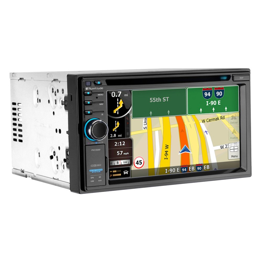 Car stereo with built in gps