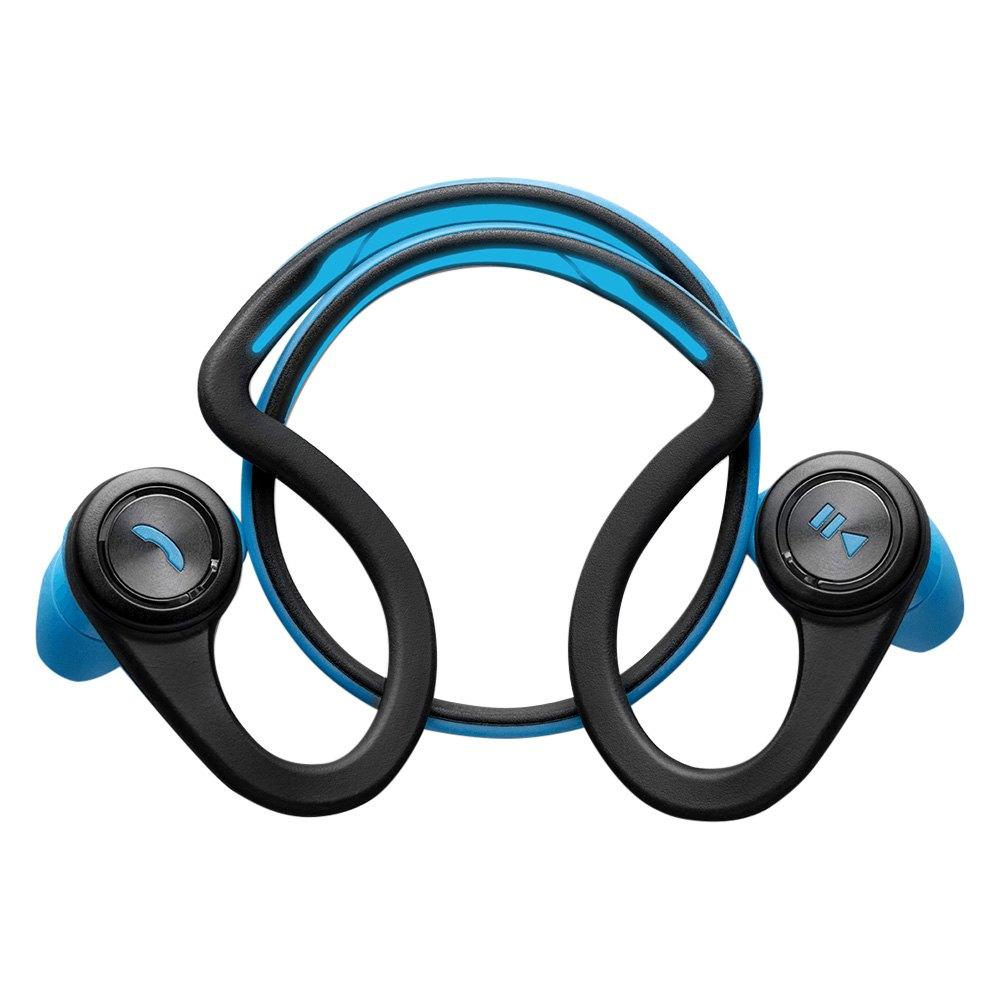 plantronics bbfitblue backbeat fit r wireless headphones with microphone blue. Black Bedroom Furniture Sets. Home Design Ideas