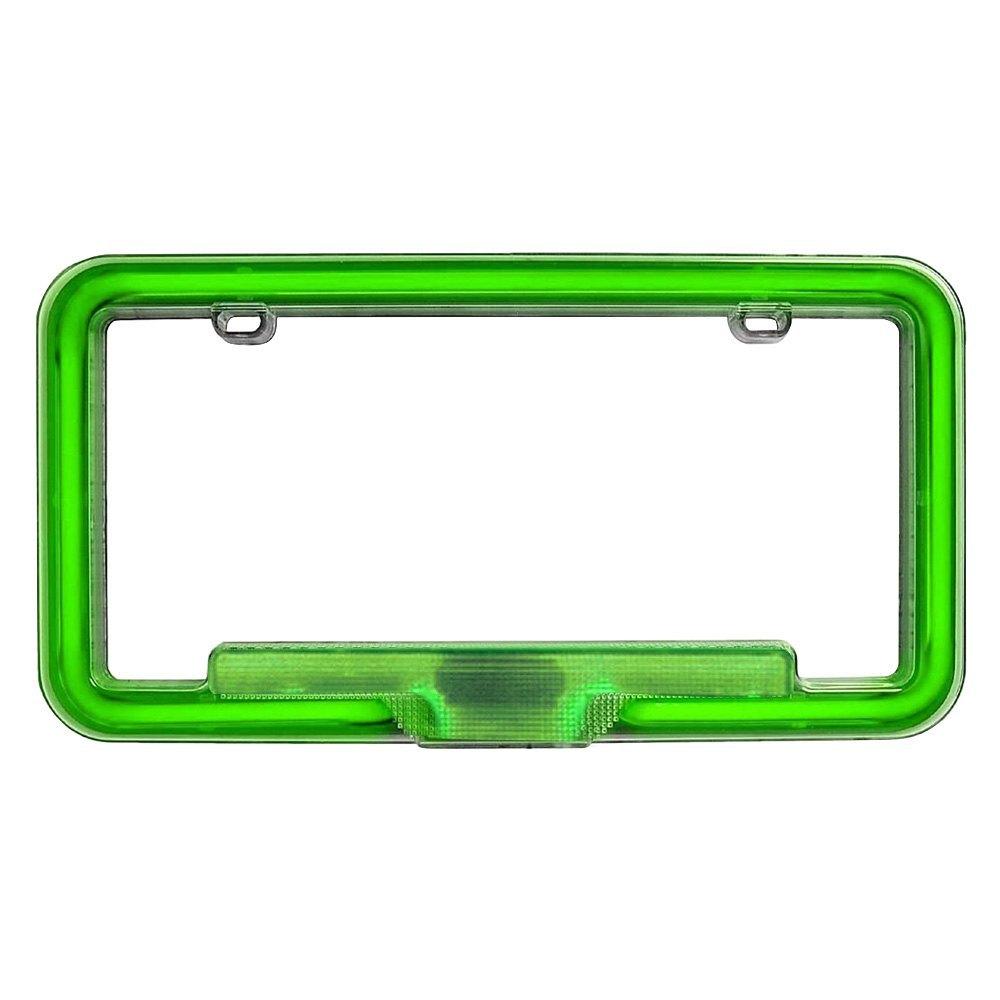 Beautiful PlasmaGlow®   Neon License Plate Frame