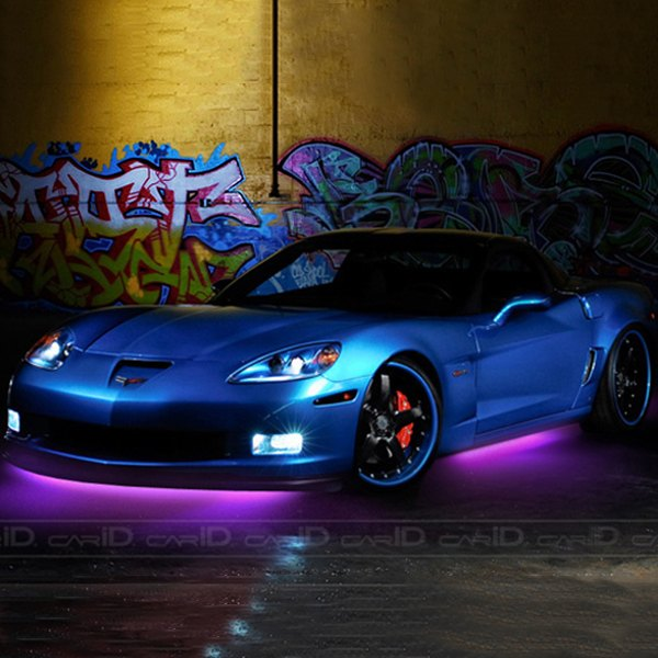 Purple Flexible LED Under Car Kit