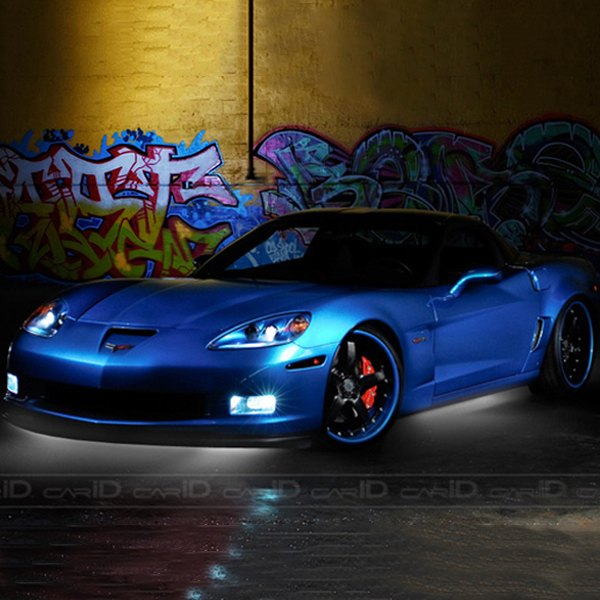 Flexible Led Light Car : ... 10609 black light flexible led under car kit plasmaglow led lights