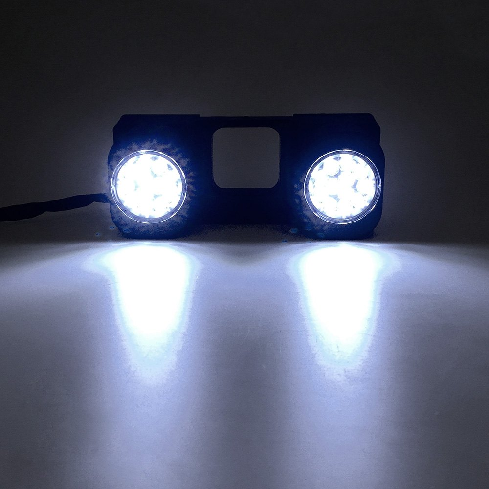 PlasmaGlow® 11290 - Trailer LED Hitch Light with Reverse Light