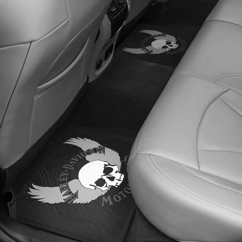 Plasticolor® 000914R01 - 2nd Row Footwell Coverage Black Rubber ...