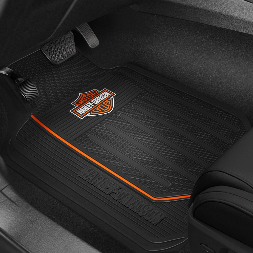 Plasticolor 174 001467r01 1st Row Black Rubber Floor Mats